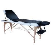 Tahiti Savina 3 Section Portable Massage Table Black