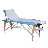 Tahiti Savina 3 Section Portable Massage Table Blue